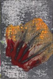 Les Fleurs du mal - Révolte | Acrylic on canvas board - cm 10x15