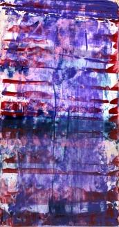 Frammenti I - Accanimento concettuale - 04/2015 | Acrylic on cardboard - cm 20x38