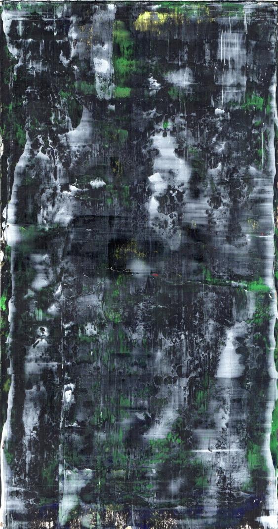 Frammenti I - Amnesia - 04/2015 | Acrylic on cardboard - cm 20x38