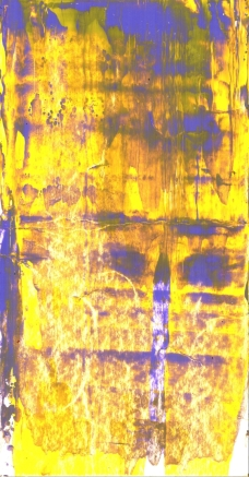 Frammenti I - Densità spettrali - 04/2015 | Acrylic on cardboard - cm 20x38