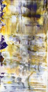 Frammenti I - Glaciazione - 04/2015 | Acrylic on cardboard - cm 20x38
