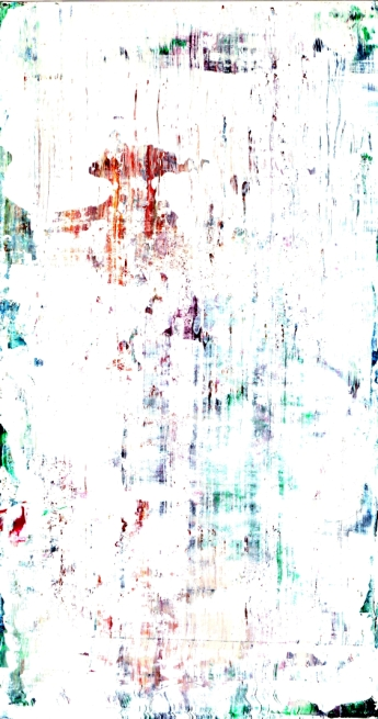 Frammenti I - Impronte di Venere - 04/2015 | Acrylic on cardboard - cm 20x38
