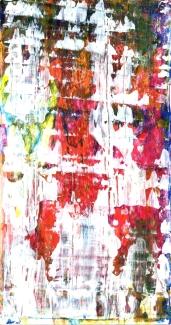 Frammenti I - Invasione - 04/2015 | Acrylic on cardboard - cm 20x38