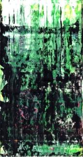 Frammenti I - La natura fa il suo corso - 04/2015 | Acrylic on cardboard - cm 20x38