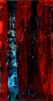 Frammenti I - Menzogne dello specchio - 04/2015 | Acrylic on cardboard - cm 20x38
