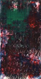 Frammenti I - Natura incerta - 04/2015 | Acrylic on cardboard - cm 20x38