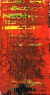 Frammenti I - Ordine mistico - 04/2015 | Acrylic on cardboard - cm 20x38