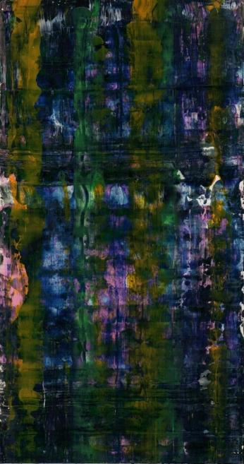 Frammenti I - Paesaggio caramelloso - 04/2015 | Acrylic on cardboard - cm 20x38