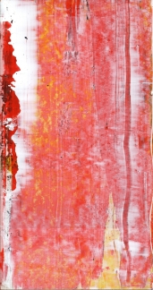 Frammenti I - Pista - 04/2015 | Acrylic on cardboard - cm 20x38