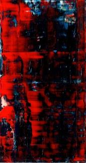 Frammenti I - Quando piove - 04/2015 | Acrylic on cardboard - cm 20x38