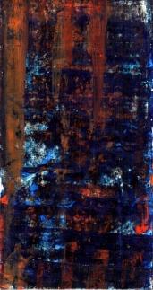 Frammenti I - Ripensamenti - 04/2015 | Acrylic on cardboard - cm 20x38
