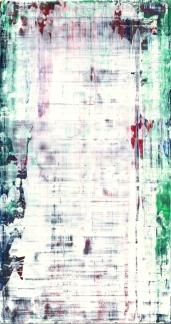 Frammenti I - Robin - 04/2015 | Acrylic on cardboard - cm 20x38