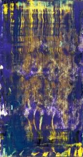 Frammenti I - Salomé - 04/2015 | Acrylic on cardboard - cm 20x38