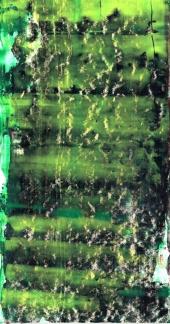 Frammenti I - Soffi - 04/2015 | Acrylic on cardboard - cm 20x38