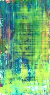Frammenti I - Spirito palustre - 04/2015 | Acrylic on cardboard - cm 20x38