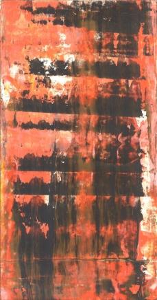 Frammenti I - Tonica dominante - 04/2015 | Acrylic on cardboard - cm 20x38