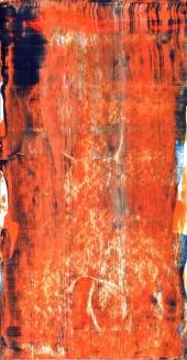 Frammenti I - Tracce temporali - 04/2015 | Acrylic on cardboard - cm 20x38
